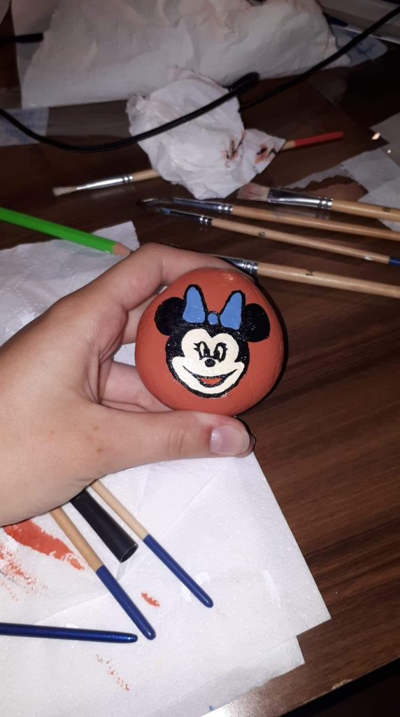pomalowanie kamienie inspiracje